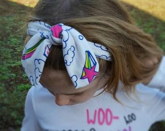 Magic Land Rainbows Headband / Size for babies and adults / Fantasy Headband