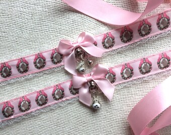 Totoro Pink Kitten Play Collar