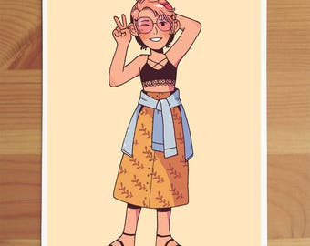 Cute Summer Mini Print