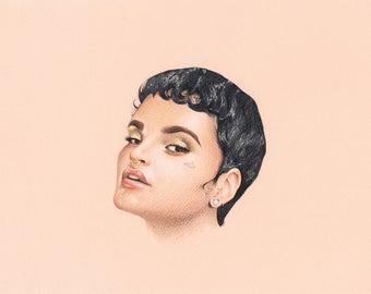 Kehlani - Signed 8x10 Art Print