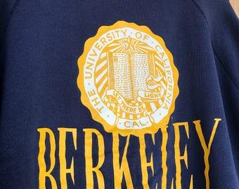 1980's vintage Cal Berkeley sweatshirt