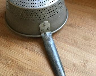 Vintage kitchen strainer, steamer