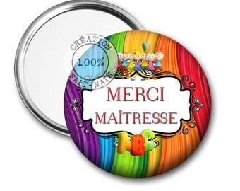 Thank you mistress 50 mm Pocket mirror