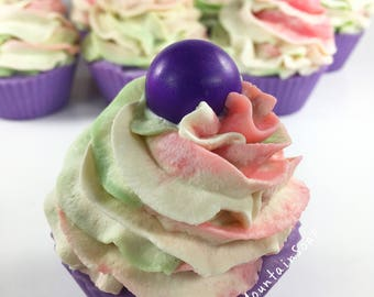 Soap Cupcake Soaps, Artisan Soap Cupcakes, Handmade Soap Homemade Soap Favors Novelty Soap Gift Scented Soap Bath And Body Works Pearberry