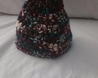 Toddler Hat w/ Pom-Pom