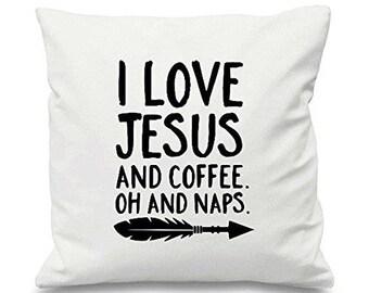 Jesus Pillow Etsy