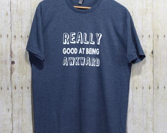 Awkward funny t-shirts - Funny gifts for friends, Workout shirts, Gym shirts, Running shirt, Gym t shirt, Funny workout shirts, TBS040