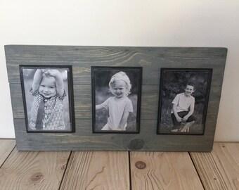 Wood Frame - Rustic Home Decor - Farmhouse Decor - Picture Frame - Rustic Frame - Rustic Wedding Decor - Picture Frame Set  - 4x6 Picture