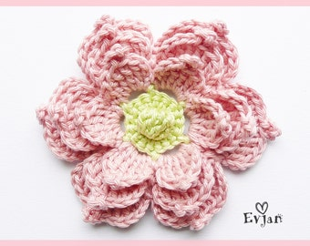 Great crochet flower