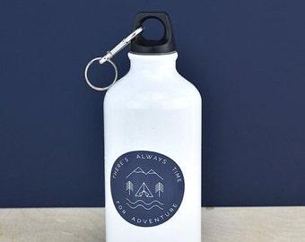 Toujours temps pour un cadeau de fête des pères cadeaux - cadeau père - Daddy bouteille d'eau - cadeau pour les cyclistes - aventure - cadeaux pour lui - [FDWB-002]