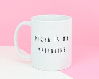 Sale My Valentine Mug - Funny Valentine Gift - Gift for Her - Gift For Friends - Palentine Gift - Anti-Valentine - Personalised Mug [MUGV-00