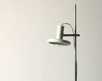 Mid Century Modern Floor Lamp, Mid Century Modern Lighting, White Floor Lamp, Vintage Floor Lamps, Floor Reading Lamp, Floor Standing Lamps