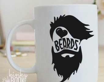 Beard Love Ceramic Mug