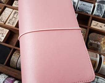 Regular! Journal! Notebook! TN pink