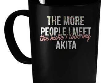 Akita Coffee Mug 11 oz. Perfect Gift for Your Dad, Mom, Boyfriend, Girlfriend, or Friend - Proudly Made in the USA! Akita gift