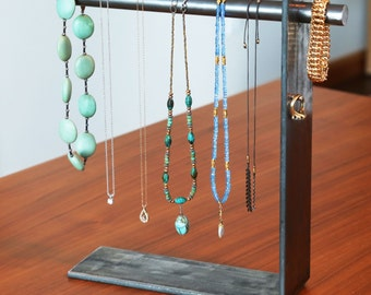 Industrial Magnetic Necklace Stand
