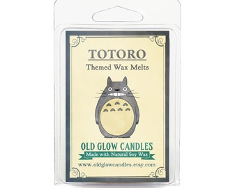 Totoro Inspired Scented Soy Wax Melts 80g