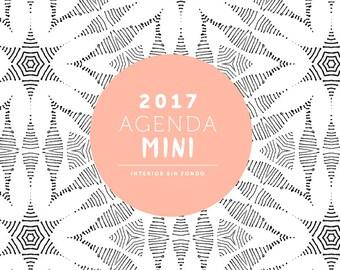 Agenda 2017 - Mini - bottomless - spare 2017