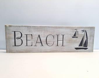 Beach Sign Home Decor - Beach Decor - Coastal Beach Decor - Beach Signs - Beach Sign - Beach Wall Art - Coastal Wall Art