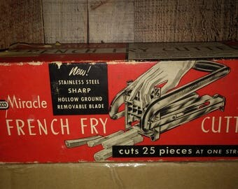 Ekco Miracle French Fry Cutter