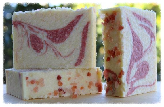 Himalayan Sea Salt & Pink Kaolin Clay Soap