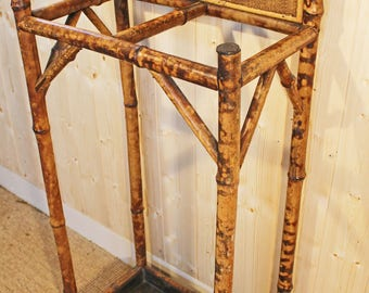 Antique Bamboo Stick and Umbrella Stand