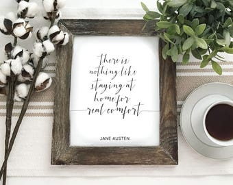 Emma Jane Austen There is Nothing Like Staying Home