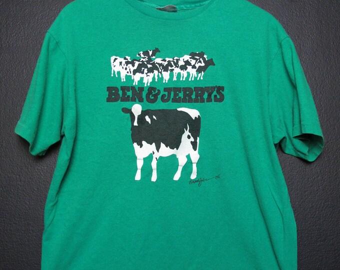 Ben & Jerry's Vermont's Finest 1985 Vintage Tshirt