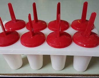 Vintage ice pop molds