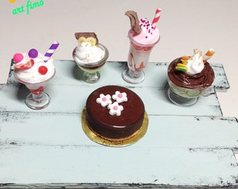 Ice cream cups collection