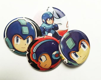 Mega Man Button Pack