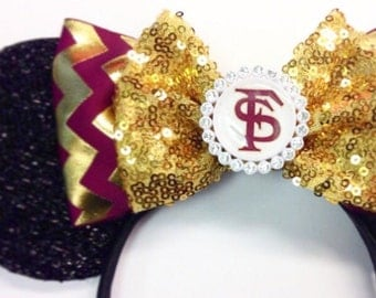 FSU Florida State University inspired Mouse Ears
