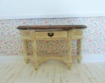 miniature furniture, doll house furniture, miniature sideboard, doll house sideboard