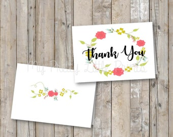 Thank You Note *INSTANT DOWNLOAD*