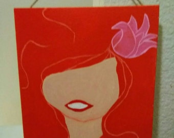 The Little Mermaid inspired Painting