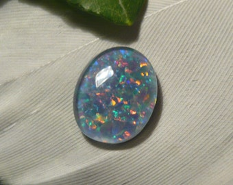 DISCOUNT Reclaimed Vintage Opal Triplet, 1.2ct (Damaged)