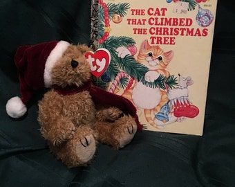 """Vintage 1993 Ty """"Jangle"""" beanie baby ans vintage 1992 little golden book"""
