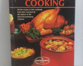 1975 Rival Crock Pot Cooking by Marilyn Neill, Crockpot Slow Cooker