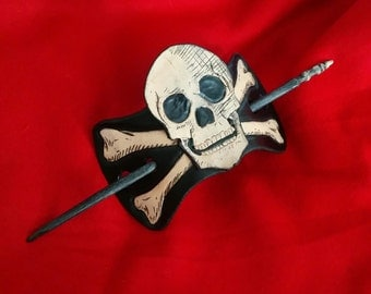 Skull Cross Bones Jolly Roger Pirate Flag