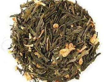 Peach flavoured Loose Leaf Green Tea - 100g