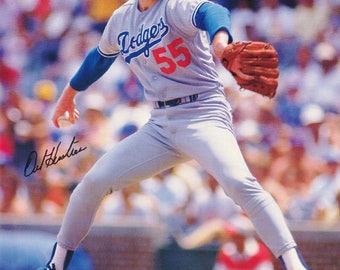 Orel Hershiser LA Dodgers 1992  Poster