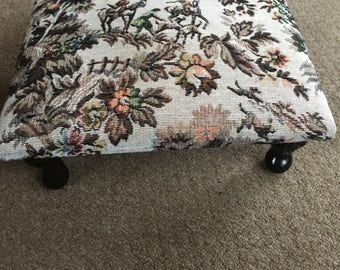 Tapestry Foot Stool