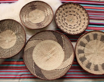 African Basket, Binga Basket Group Design Service, Wall Decor, Eclectic Decor, Boho Style - PLEASE Do NOT BUY, contact me for this service.
