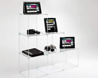 Display Cubes | Merchandising Display Sets | Product Display Cubes | Premium Perspex Acrylic | Made in the UK