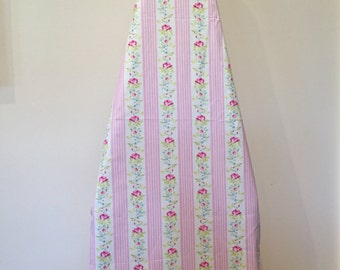 Ironing Board Cover/Floral Ironing Board Cover/Pink Floral Iron Cover/Pink Laundry Room Decor/Floral Laundry Room Decor/Ironing Board