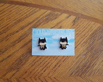 Batman Inspired Earrings