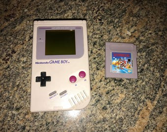 Original Nintendo Game Boy 1989 with Super Mario Game