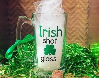 Irish Shot Glass Beer Mug