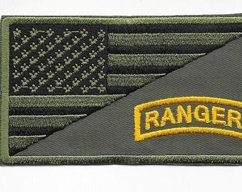 US Army Ranger Vietnam era 75th Airborne Infantry Regiment acu Patch  or  VELCRO
