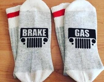 Jeep Socks! Gas Brake